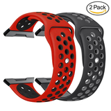 NO1seller Top Soft Silicone Sport Fitbit Ionic Bands